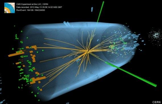 Quelle est la masse approximative du boson de Higgs ?