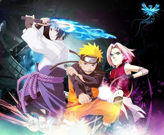 Personnages : Naruto et One Piece