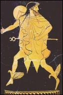 Dans la Grèce antique, quelle divinité était le dieu du mouvement, des voleurs, du commerce et des voyageurs ?