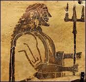 Dans la Grèce antique, quelle divinité était le dieu de la mer et des chevaux ?