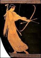 Dans la Grèce antique, quelle divinité était la déesse de la chasse, de la nature sauvage et de la Lune ?
