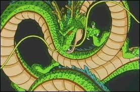 Comment s'appelle le dragon qui apparaît lorsqu'on a les 7 boules de cristal ?
