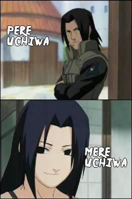 Qui sont les parents de Sasuke Uchiwa ?