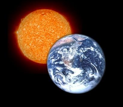 La Terre est-elle plus grande ou plus petite que le Soleil ?