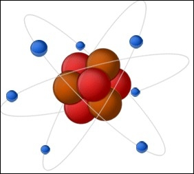 Qu'y a-t-il entre le noyau et les électrons d'un atome ?