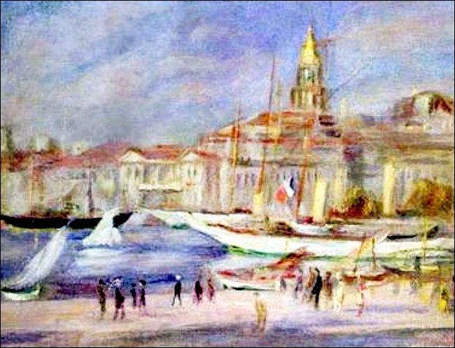 Quizz les lieux touristiques de france en peinture quiz - Artiste peintre marseille ...