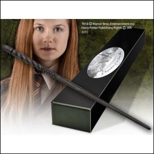 Quelle description correspond le mieux à la baguette de Ginny ?