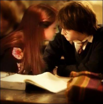 Comment se montre Ginny quand Harry lui annonce qu'ils doivent se séparer afin que Ginny ne devienne pas la cible de Lord Voldemort ?