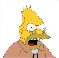 Comment s'appelle ce vieux grincheux qui s'avère être le papa d'Homer ?