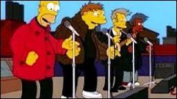Homer fut membre d'un groupe de musique. Quel était le nom de ce groupe ?