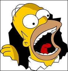 A quel personnage de cartoon Homer a-t-il prêté sa voix ?