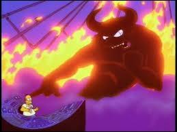 En échange de quoi Homer a-t-il vendu son âme ?