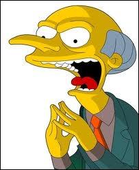Qui est le patron d'Homer Simpson ?