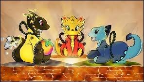 Encore dans Skyward Sword, quels sont les noms des trois dragons gardiens des contrées terrestres ?