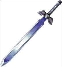 Selon Skyward Sword, l'épée de légende (Excalibur) est imprégné de trois  choses . Que sont ces choses ?