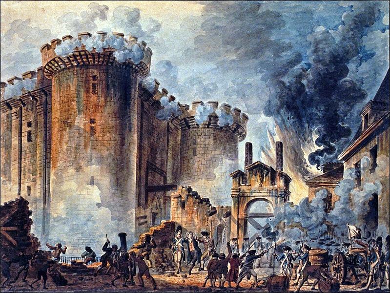 La Prise de la Bastille !