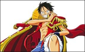 De quelle couleur devient Luffy lorsque qu'il utilise son  cuir second  ?