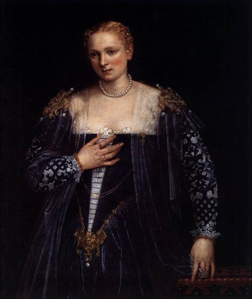 Portrait d'une Vénitienne dit La belle Nani - 1560