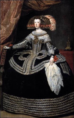 La Reine Marianne d'Autriche - 1653