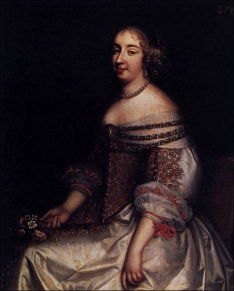 Portrait de Mademoiselle de Montpensier - 1655