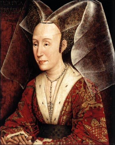 Portrait d'Isabelle du Portugal - 1460