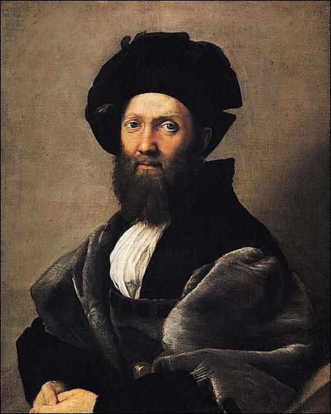 Portrait de Baldassare Castiglione - c. 1515