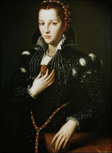 Portrait de Lucrèce de Medicis - 1540