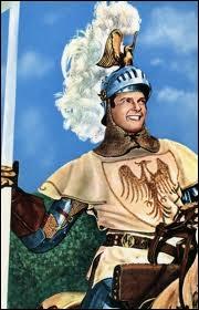 Lui aussi aurait pu dire Ralliez-vous à mon panache blanc ! Ce fut le premier succès de ce jeune acteur, qui en connût bien d'autres par la suite. Qui est ce chevalier ?