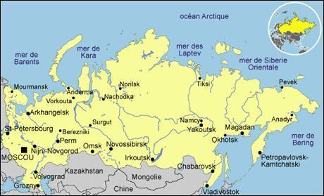Combien y a-t-il de pays limitrophes à la Russie ?