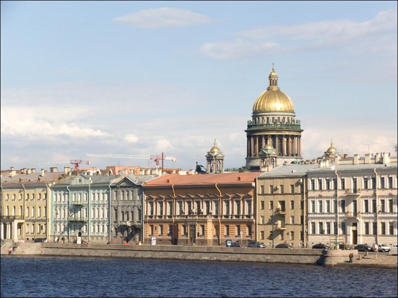 Pendant quelle période Saint-Pétersbourg a-t-elle été la capitale de l'Empire russe ?