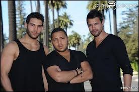 Qui sont ces 3 garçons ? (le dire dans l'ordre)