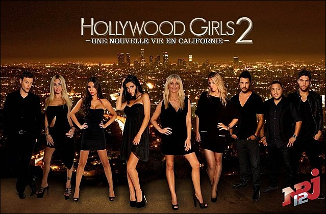 Où se passe la série Hollywood Girls ?