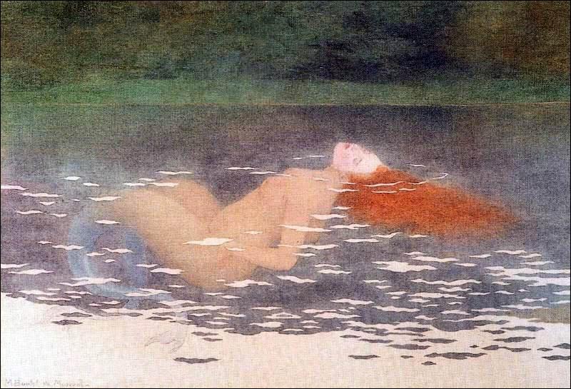 Encore une sirène très rousse du peintre Maurice Boutet de Monvel, laquelle a été peinte à votre avis en quel siècle ?