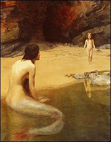 Ce très joli tableau d'atmosphère est l'oeuvre d'un peintre britannique qui est... ?