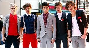 Quelle chanson est des One Direction ?