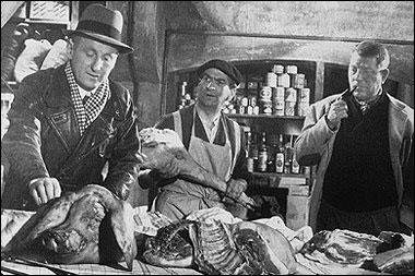 Dans quel film les trois monstres sacrés, Bourvil, Gabin, de Funès sont-ils réunis par Claude Autant Lara ?
