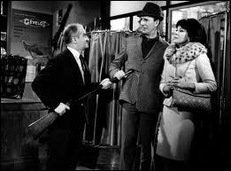 Ce film est  Faites sauter la banque  de Jean Girault. Combien de films Louis de Funès et Jean Girault ont-ils réalisés ensemble ?