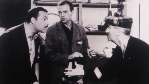 Quel est ce film sorti en 1965, avec Michel Serraut, Claude Brasseur, Galabru, Sacha Distel ?