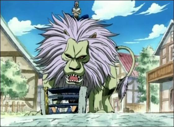 Comment s'appelle le lion de Morge, le dresseur de fauves ?
