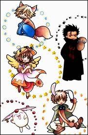 Quel est le nom du manga qui rassemble le mage épicurien et ses amis ?