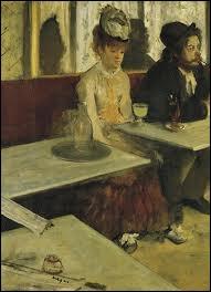 Qui a peint L'absinthe ?