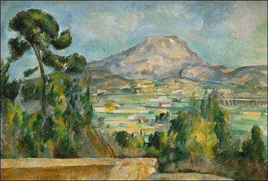 Qui a peint La montagne Sainte Victoire ?