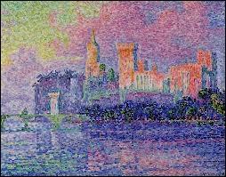 Qui a peint Le palais des papes à Avignon ?