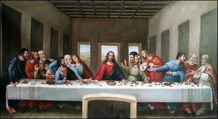 Qui a peint La Cène ?