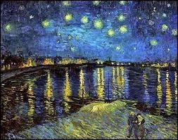 Qui a peint Nuit étoilée sur le Rhône ?