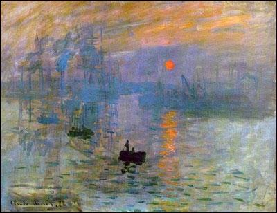 Qui a peint Impression soleil levant ?