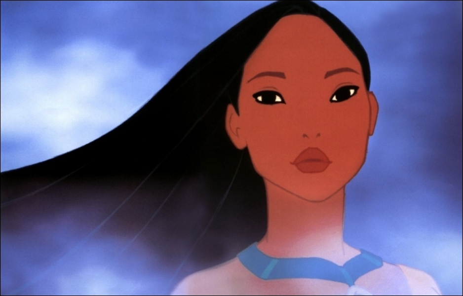 Cochez ce qui correspond à Pocahontas :