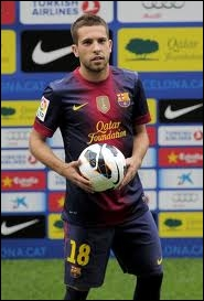 Quel est l'ancien du club de Jordi Alba ?