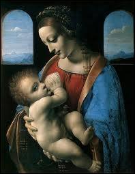 Laquelle de ces expressions est blasphématoire en faisant allusion à ce chef d'oeuvre de Léonard de Vinci  La Vierge et l'Enfant  ?