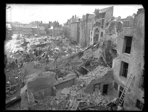 Sur quelle ville se porte l'effort principal lorsque l'Allemagne déclenche une grande offensive entre le 8 et le 10 mai ?